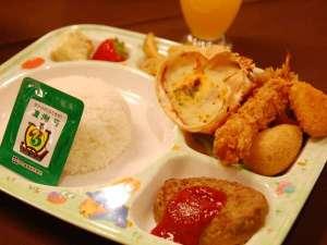 【お子様ランチ】子どもが好きそうな物ばかり!たくさん食べてくださいね♪/例