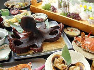 日間賀島の大自然と料理が堪能できる宿 松鶴:★【お料理の一例】