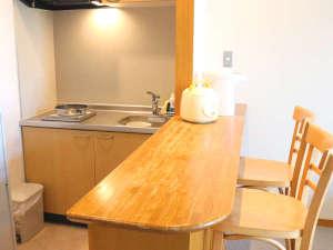 ふれあいの里 ささみね:【小さい洋室】キッチン完備で自炊もOK