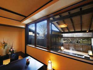 南阿蘇夢しずく温泉 ホテル夢しずく:【和洋室Bタイプ】客室露天風呂付きでお好きな時に温泉三昧。