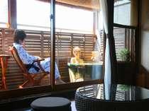 ☆野沢温泉で源泉掛流しの露天風呂付客室に泊る♪1泊2食付き☆●家族旅行応援●のイメージ画像