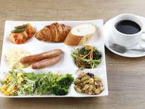 【朝食バイキング付】一日の始まりはおいしい朝食から!40品目以上の和洋バイキングのイメージ画像