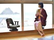 日本の夕日百選 由良海岸を臨む ホテルサンリゾート庄内の施設写真1