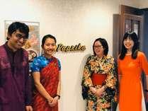 本格的マレーシア料理が食べれるオーベルジュパプリカホテルですの写真