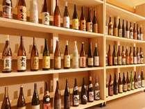館主が全国から厳選した日本酒&焼酎が楽しめる!ご夕食は当館人気No1の「鶯月膳」
