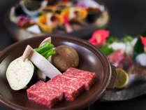 【松】海神コース 選べる土佐和牛A4ランク≪陶板焼きorすき焼き≫メインを贅沢にアップグレード