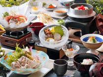 【当館一番人気】スタッフの思いがつまった夕食!島原半島の旬の食材いいとこどり!島原うまかもん会席