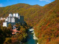 2つの絶景露天風呂が自慢の老舗宿 会津芦ノ牧温泉 大川荘の写真