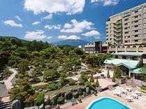 庭園と感動の宿 富士山温泉 ホテル鐘山苑の写真