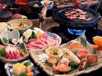 ◆囲炉裏料理プラン◆ 当館一番人気! 産山名物&旬の食材を囲炉裏で堪能