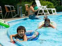 【早期割/夏季限定】子供Bは2食付4800円!家族で過ごす夏休みプラン〜プール利用無料