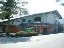 旅館 養浩亭 露天風呂から長瀞渓谷を望む宿の写真