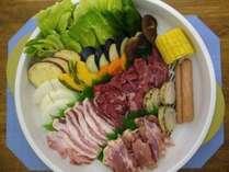 【BBQ/お鍋】らくらく夕食付プラン♪のイメージ画像