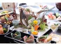 【贅沢にお魚を味わう】小豆島・四季の地魚の特選会席『海』島の季節を彩り豊かに食す(1泊2食)