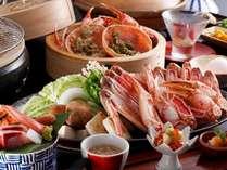 年に一度のお楽しみ!ずわい蟹2杯のフルコースプラン