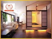 客室専用露天風呂付のスイートルーム はなれ 松島閣の施設写真1