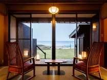 夕日ヶ浦温泉 日本海を見下ろす絶景宿 佳松苑はなれ櫂の施設写真1