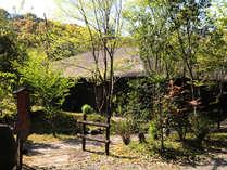 全室源泉掛け流し温泉付離れの旅館 四季の杜 紫尾庵の写真