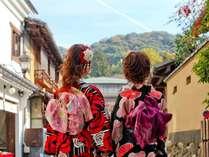 【京美人】着物で京都観光♪ホテルで楽々返却、着物レンタルプラン<素泊まり>