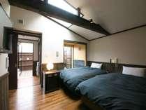 全室半露天付き客室 旅館由布山の施設写真1