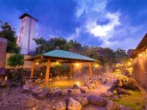 瀬波温泉 自慢の野天風呂 湯元 龍泉の施設写真1