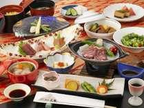 お料理グレードUP!上質な和牛と季節の味覚をご堪能ください~旬彩会席「かきつばた」~のイメージ画像