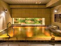 天然温泉 四季彩の湯 スーパーホテルPremier大阪本町駅前の施設写真1