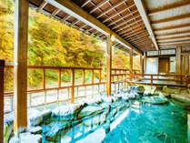渓谷に佇む源泉湯宿 四万やまぐち館の施設写真1