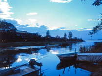 東郷温泉 湖泉閣養生館 湖を独り占め 24時間無料貸切露天風呂の写真