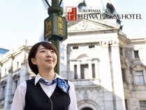【横浜平和プラザホテル】焼きたてパンと珈琲の朝食が人気の宿の施設写真1