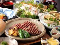 【網焼きプラン】絶品!☆腕利きの料理人が焼き上げた大正屋特選牛を網焼きで食す
