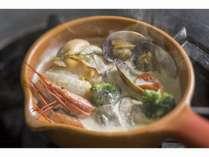 【魚介の食べるスープ&メインの肉料理】『しりべしコトリアードフェア』プラン/じゃらん3月号掲載