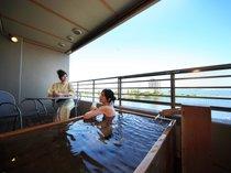 おごと温泉 びわこ緑水亭~湖畔に佇む露天風呂付客室の宿~の写真