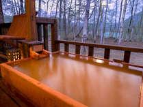 みかん色の自家源泉と湖を望む絶景宿 はなやの森