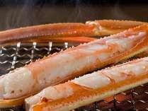 選べる特典×焼き蟹・カニ刺し・面付茹でズワイガニ等のカニフルコースじゃプラン