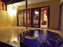 ペットと部屋食 室専用露天風呂付 別邸 石の家