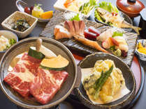 ★NEW!【三ノ松】 特撰★牛の陶板焼きと瀬戸の豪華美食 2食付きのイメージ画像