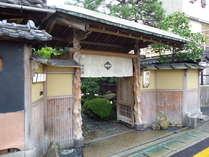 登録有形文化財 竹村家本館の施設写真1