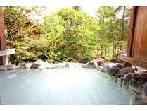 岩と檜の貸切露天 詩季の宿 白樺の庄の施設写真1