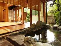 【源泉掛流し専用風呂付き】1名様最大1万円以上お得な宿泊プランのイメージ画像
