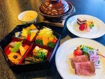 【1泊2食】市内一望レストランで夕食・朝食、和食プラン♪のイメージ画像