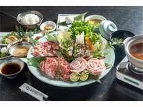 ☆満腹プラン☆窪川米豚食べくらべプランのイメージ画像