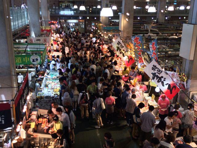 お祭り_唐戸市場(活きいき馬関街)