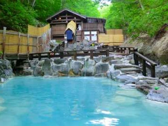 蔵王温泉の宣伝広告の画像です。_蔵王温泉大露天風呂