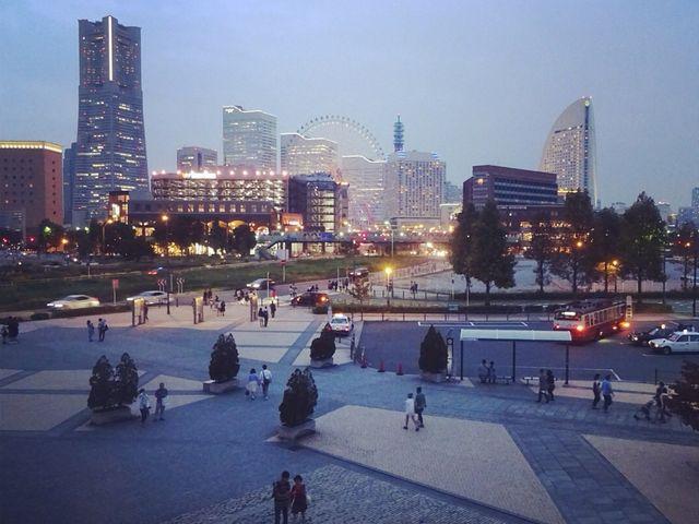 赤レンガ倉庫から見た夜景♡_横浜赤レンガ倉庫[1号館及び2号館]