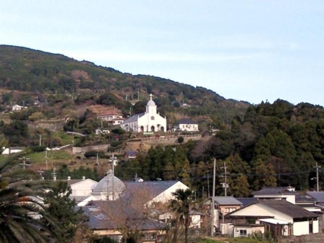 山の中の大江天主堂_﨑津教会