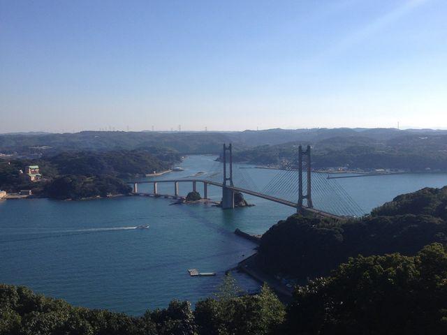 呼子大橋や呼子の港町を一望できます♪_風の見える丘公園
