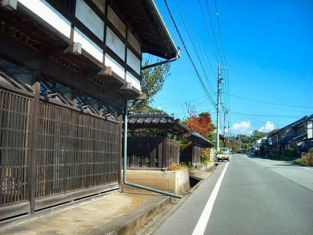 中山道の小田井宿_中山道