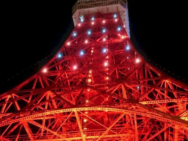 ダイヤモンドヴェール(赤・緑)_東京タワーメインデッキ