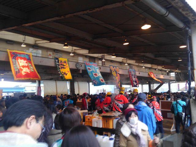 第20回マグロ祭!_勝浦漁港